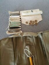 Vintage Military Army Sewing Kit Buttons