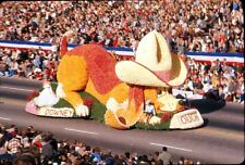 1965 35mm Color Photo Slide, Downey California Parade Float in Rose Parade