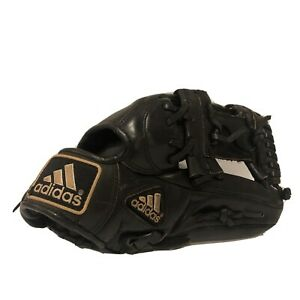"""Adidas 11.5"""" Leather Right-Handed Baseball Glove PL1150 Pro Leather Black"""