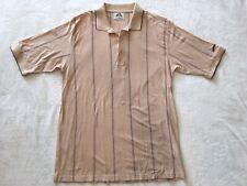 Slazenger Mens Golf Apparel Polo Shirt 100% Mercerized Cotton Cream/Yellow SZ XL