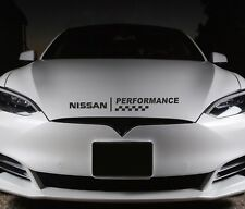 Bonnet Performance Sticker Fits Nissan Premium Qaulity Decals RS30
