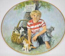 vintage plate kittens for sale john mcclelland Plate