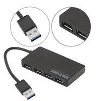 Compact 4 ports USB 3.0 Hub pour PC Portable 5Gbps Mac PC portable de bureau IL