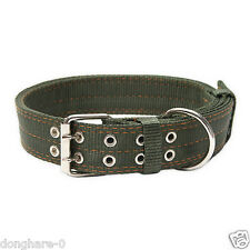 Large Dog Collar Heavy Duty Adjustable Pet Puppy Nylon Thickening Collars L-XL