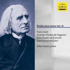 Erika Haase - Etudes Pour Piano Vol Iii [CD]