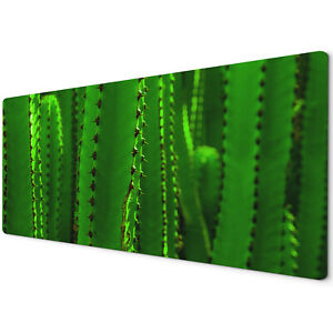 60 x 30cm Extra Large XL Desk Mouse Pad Mat Gaming Green Cactus Funky Cool