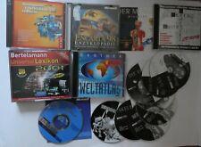 Sammlung Lexika und Nachschlagewerke PC CD-Rom Weltatlas, Encarta, Bertelsmann