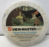 Vintage Lot 15 GAF View Master Reels Disney Cartoon Favorites & More Stock #2729