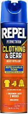 5 Pack REPEL Permethrin Clothing and Gear Insect Repellent Aerosol 6.5 Oz Each