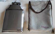 """Ronson """"Mastercase"""" Lighter * Cigarette Case: In Cloth Pouch in Original Box"""
