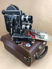 Bolex H8 Reflex #190809 w/ 5,5mm / 12,5mm / 36mm C-Mount Switar - Gorgeous Set