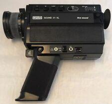 Vintage Eumig Sound 31XL Live Sound Super 8 (8mm) Cine Film Movie Camera, Retro