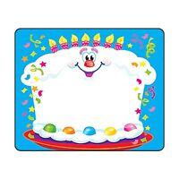 Happy Birthday Targhetta Con Nome Adesivi/Etichette Scuola,Compleanno Party,