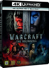 Warcraft 4K UHD + Blu Ray (Also includes IN-GAME content) (Slipcover)