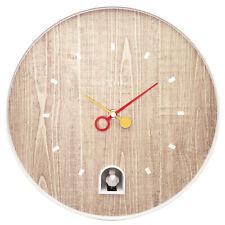 Boyle Home Décor Modern Stylish Designer Clock NeXtime Nightingale - White