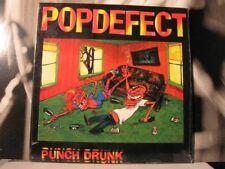 POPDEFECT PUNCH DRUNK LP NEAR MINT 1992 FLIPSIDE
