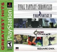 Final Fantasy Chronicles: FF 4 IV & Chrono Trigger Compilation PlayStation 1 PS1