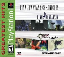 Final Fantasy Chronicles: FF 4 IV & Chrono Trigger Compilation PlayStation 1 PS1