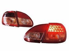 For Toyota Corolla Altis 2003-2007 LED Tail Lights Rear Lamps Red/Clear JDM