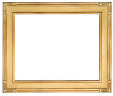12 x 16   Picture Frame Hand Applied Gold Leaf Gallery Finish Super Nice