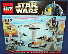 LEGO 7749 ECHO BASE star wars RETIRED Sealed NISB NEW 155 pcs 30th