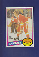 Pat Ribble 1980-81 O-PEE-CHEE OPC Hockey #393 (NM+) Washington Capitals