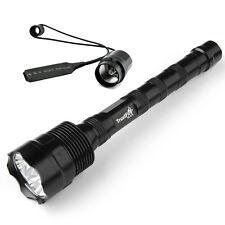 Táctico del interruptor linterna LED 18650 Trustfire 3800LM CREE XM-L2 1 Modo