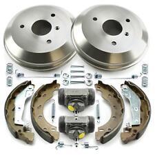 2x Bremstrommel + 2x Radbremszylinder + Bremsbacken + Zubehör hinten Smart 450