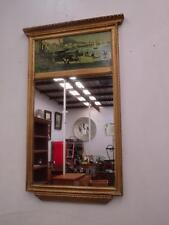 D16025 Vintage Gold Framed Pier Wall Mirror