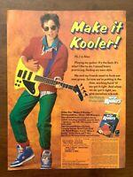 1987 Kool-Aid Koolers Sweepstakes Vintage Print Ad/Poster Retro Pop Art Decor