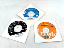 Lot of 3 HP Compaq Documentation Diagnostic CD Quick Restore CD Roxio Digital...