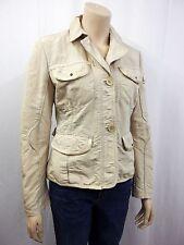NEU PEUTEREY Designer Jacke Jacket D38 I44 viele Details talliert Beige 3870