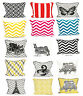 "New Style in 100% Cotton Fashionable & Decorative cushion cover 18"" x 18"""