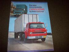 International Cargostar Truck Brochure Delivery Garbage Transport