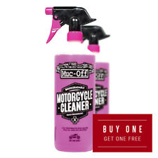 Muc-Off Motorcycle Motorbike Cleaner 1 Litre Buy One Get One Free