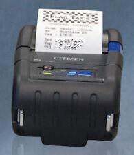 Citizen 2 Mobile Thermal Printer Cmp 20iibtiuc Serial Usb Bluetooth