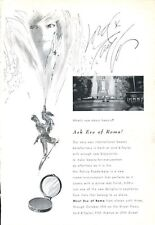 1965 Lord & Taylor PRINT AD Eve of Roma Cosmetics  Great boudoir decor