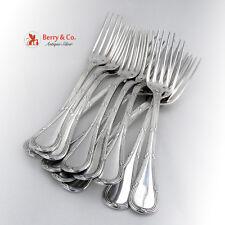 Bougainville Set of 12 Dinner Forks Sterling Silver Puiforcat