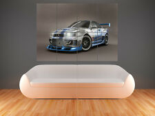 NISSAN SKYLINE GTR HUGE LARGE WALL ART POSTER PICTURE