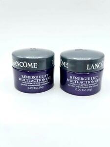 Lancome Renergie Lift Multi Action Eye Set of 2 .2 oz Each - NWOB