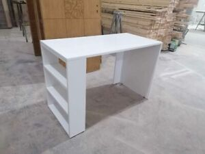 White Computer Desk office table