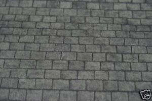 DOLLS HOUSE  ROOF PAPER  GREY  MINIATURE 12th SCALE NEW, JULIE ANNS
