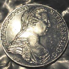 Maria Theresa thaler 1780 Austria  silver     #s21