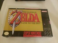 The Legend of Zelda: A Link to the Past Super Nintendo SNES Complete in Box CIB