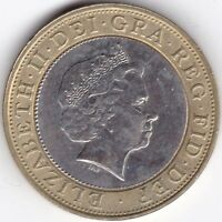 1998 Elizabeth II £2 Two Pounds Coin | Pennies2Pounds