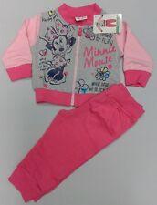 TUTA pantalone + maglia con zip MINNIE DISNEY completo g.12 mesi scatola regalo