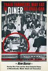 """Vintage Illustrated Travel Poster CANVAS PRINT New Haven Train Diner 8""""X 10"""""""