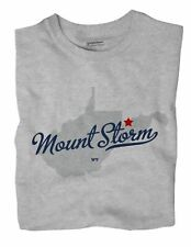 Mount Storm West Virginia WV T-Shirt MAP