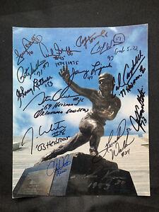 HEISMAN TROPHY WINNERS Signed 8x10 Photo w/MANY AUTOGRAPHS