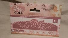 CRAFTER'S COMPANION - Rose Gold Collection - ELEGANT ROSES - Metal Die - NEW!
